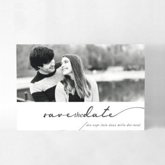 Save the date chic Alix DM30-TRA-110