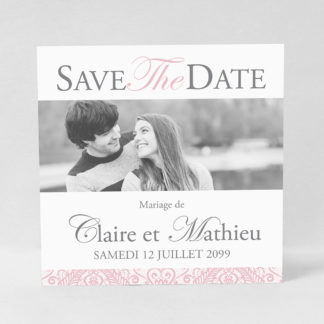 Save the date chic Charles DM53-VIN-5A