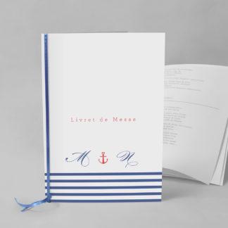 Livret de messe original Marinière EM73-GRA-13B