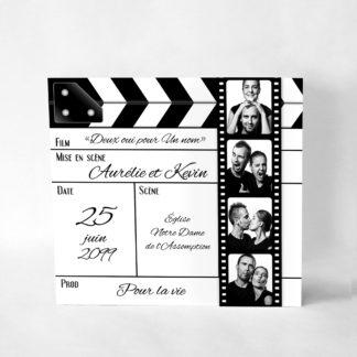 Faire-part original Cinéma FM52-CIN-22