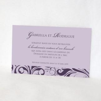 Carton d'invitation graphique Grand oui LM10-ROM-19