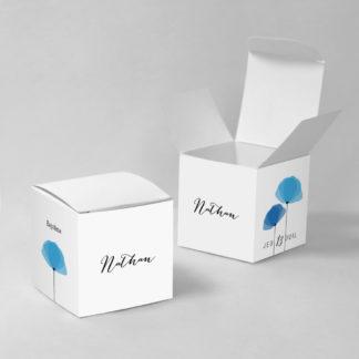 Boîte à dragées Coquelicots garçon - BN75-GRA-101A-1