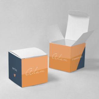 Boîte à dragées Tendre design - BN75-GRA-105-1