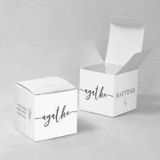 Boîte à dragées Elegancia - BN75-MIN-102-1