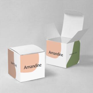Boîte à dragées Design minimal fille - BN75-MIN-108B-1