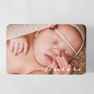 Faire-part naissance carte Minimal Terrazzo grand format - FN78-MIN-107-1-R