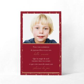 Carte de noël magnétique Arbor natalicia